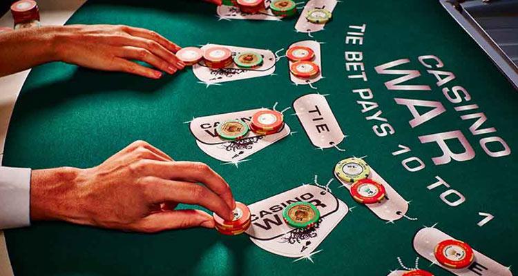Casino War tafel