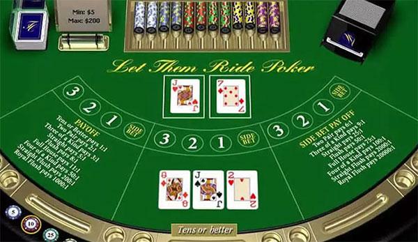 3 Card Bonus spel