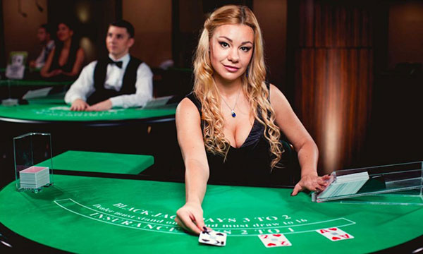 Blackjack kaarten delen